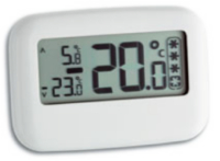 Koel vries thermometer display