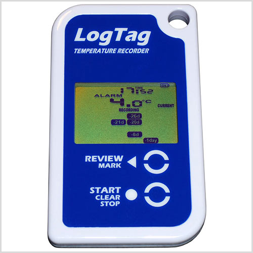 LogTag TRED30-7R met display en externe probe